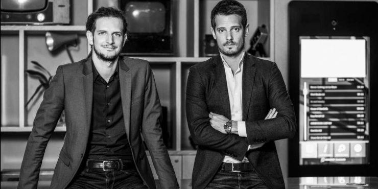 Entrepreneur francais - Quentin et Guillaume Le Pape