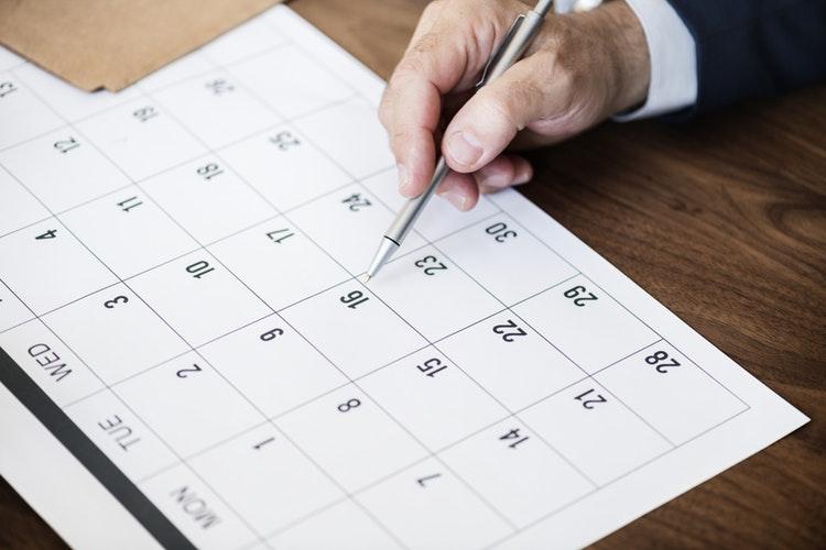 La planification sur la semaine