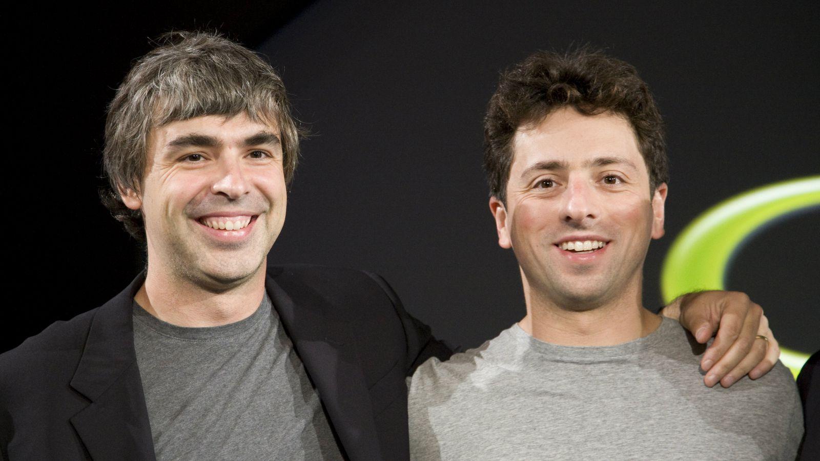 Entrepreneuriat - Larry Page et Sergey Brin