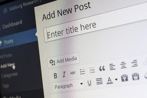 Gagner de l'argent avec un blog - présentation de l'interface